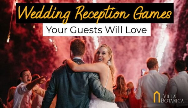 wedding reception games for wedding guests at Villa Botanica Whitsunday Wedding Venue